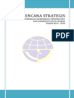 Renstra Dishub Kota Banjar 2014-2018