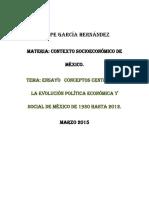 Historia de La Economia en Mexico