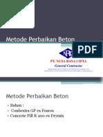 Metode Perbaikan Beton.pptx