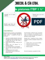 Bomba de Pistones 1 1-2 intec
