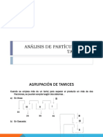 Analisis de Particulas Por Tamizado Laboratorio