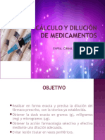 241993647 Calculo y Dilucion de Medicamentos Ppt