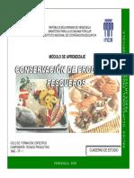 Conservacion de Productos Pesqueros