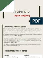 Capital Budgeting Ch 2