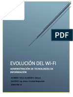 Informe Evolucion Del Wifi
