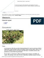 Zarzamoras - Ministerio - Magrama.gob