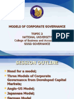Topic 02 Models of Corporate Governance 1[1]