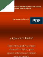 El Exito.pps