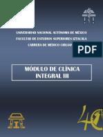 m. Clinica Integral III