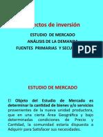 A. Análisis de La Demanda