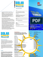Brochure for workshop on solar