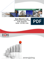 Corporate Presentation EON August 2013