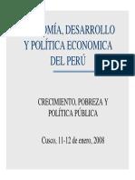 Economía y Desarrollo Perú