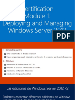 Despliegue y Administración de Windows Server 2012