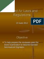 Air Laws Aero Review 2012