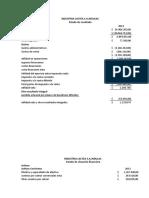 INDUSTRIA LACTEA Estados Financieros 2013
