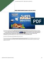 Paket Internet Indovision 2017 - Daftar Indovision Lewat Internet