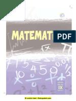 Buku Pegangan Siswa Matematika SMP Kelas 9 Kurikulum 2013 - Semester 1.pdf