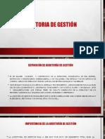 Diapositiva Auditoria de Gestion