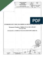 Hydrostatic Test Flushing Drying Procedure.pdf