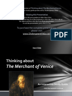 Merchant of Venice Powerpoint Preview