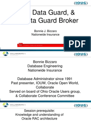 Data guard oracle 11g pdf