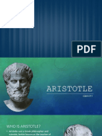 Philisophy and Logic - Aristotle