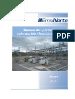 Manual de Operación Alpachaca 2013