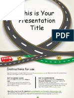 Windy Road Free Google Slides Presentation Template