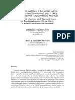 Molina Cano - Maritain y Aron Sobre El Maquiavelismo Francés