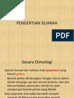 PENGERTIAN SEJARAH.ppt