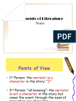 Elements of Literature Short Story Notes