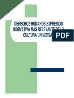 01 Derechos Humanos Expresion Normativa Mas Relevante de La Cultura Universal