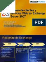 Acceso Clientes Servicios Web Exchange Server 2007