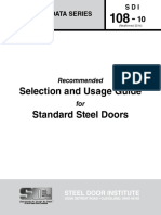 Metal Door Selection Protocol