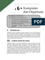 kajian sosial- Kumpulan dan Organisasi