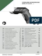 Manual Surubelnita Skil 2536