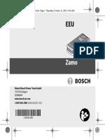 Manual Telemetru Bosch Zamo