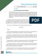 Bases Reguladoras y Convocatoria 17-04-2017 Galicia Emprende