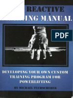 170105634 Tuscherer Reactive Training Manual