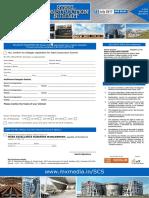 Delegate Registration Form - New Delhi