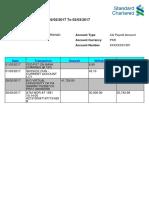 Account Transactions f