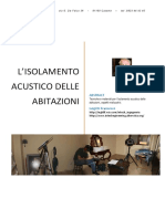 I Requisiti Acustici Passivi Parte Secon