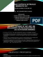 Decreto Supremo 049 - 2001 Em
