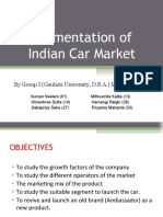Segmentation of Indian Car Market2