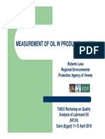 Measurement of Oil in Produced Water