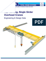 Overhead Munck Cranes - Crane and Trolleys Own Weight