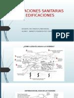 Instalaciones Sanitarias en Edificaciones Ppt