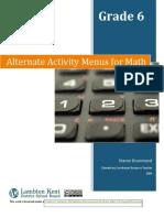 Alternate+Activity+Menus+for+Math+Grade+6