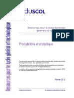 Eduscol LyceeGT Ressources Math T Proba-stat Fevrier 2012